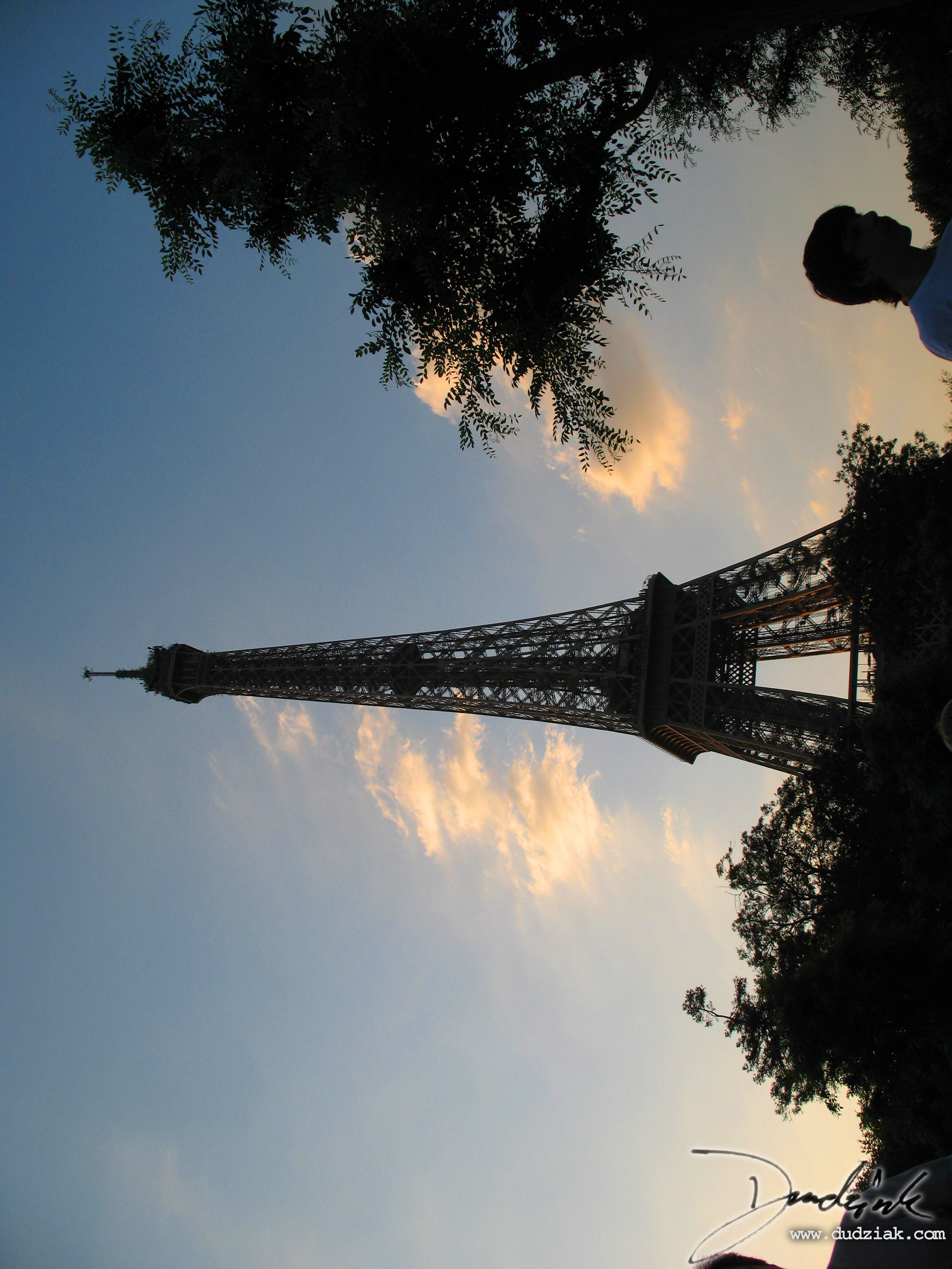 Tour Eiffel,  Paris France,  Eiffel Tower,  Sunset