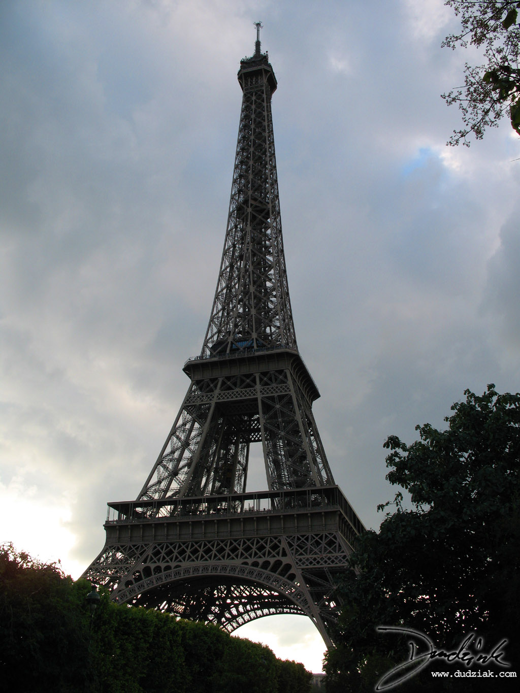 Cloudy,  Paris France,  Clouds,  Eiffel Tower