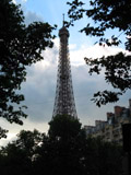 Eiffel Tower Through the Trees, Eiffel Tower