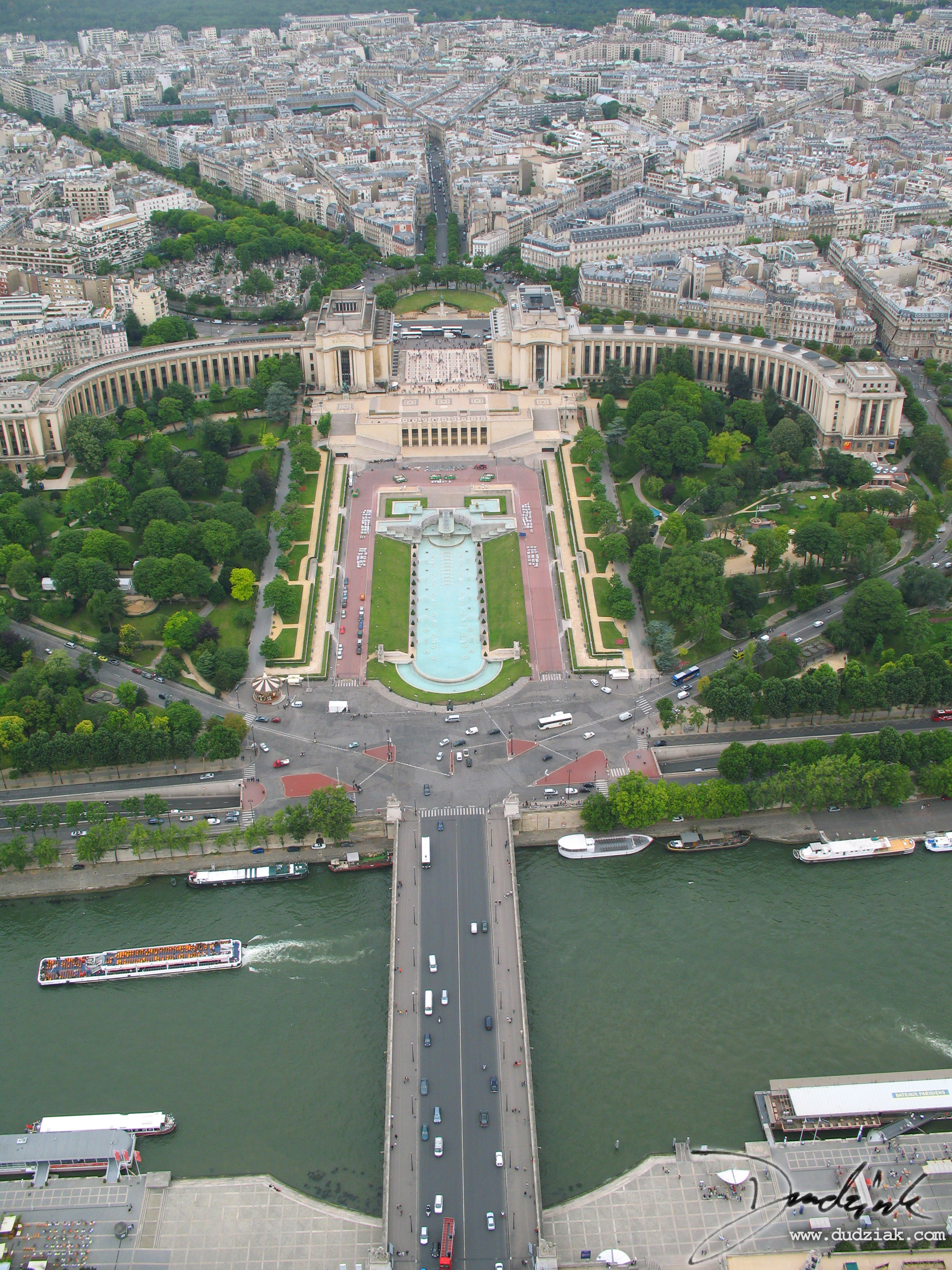 Trocadéro,  Palais de Chaillot,  Eiffel Tower,  Paris