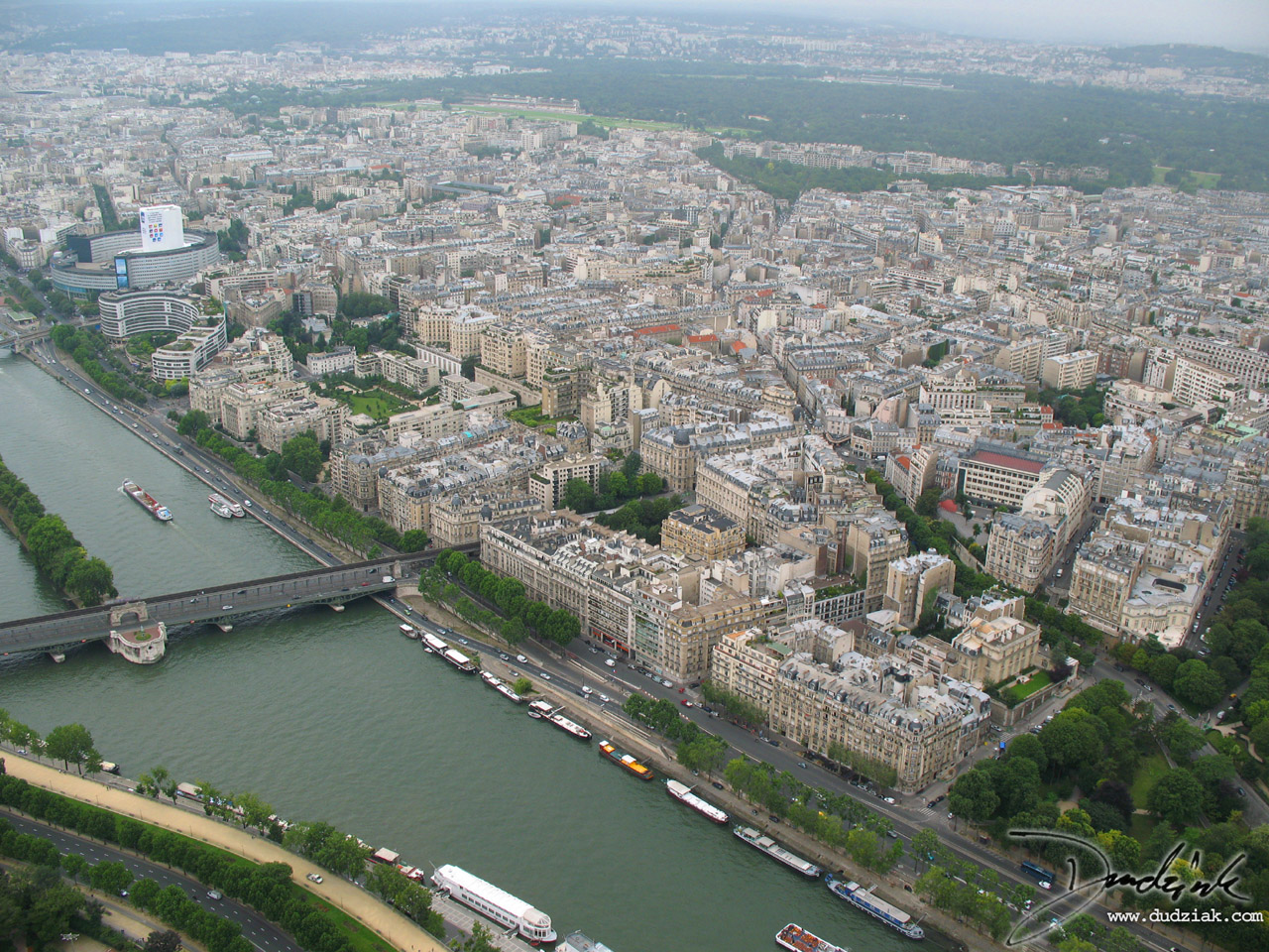Paris,  Eiffel Tower,  Seine River