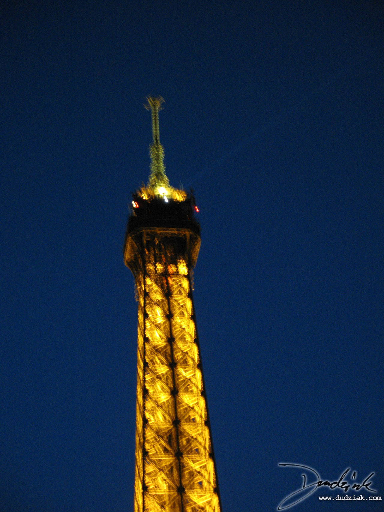 Eiffel Tower,  Night,  Lighted,  Paris France