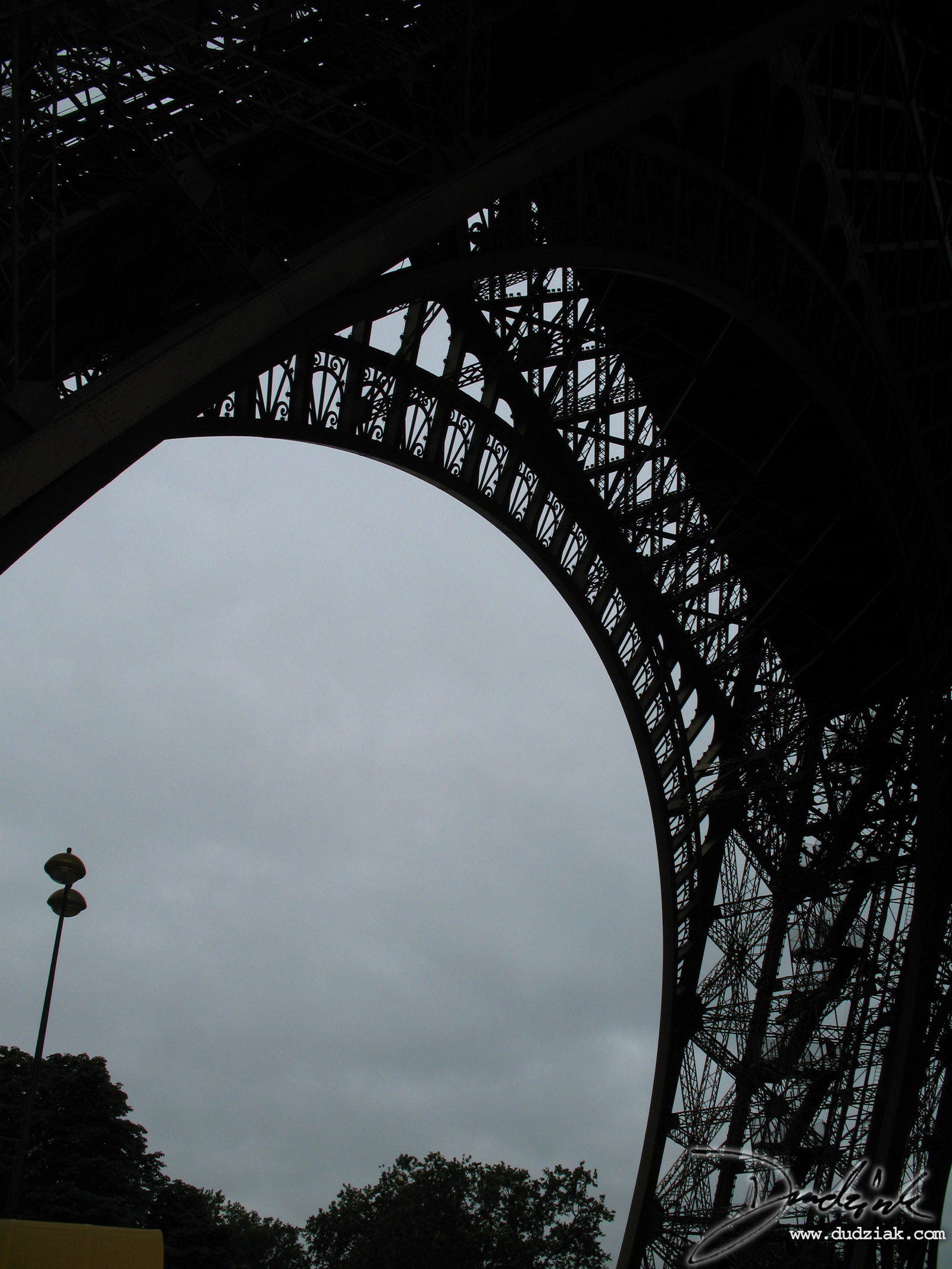 Paris,  Eiffel Tower,  Underneath