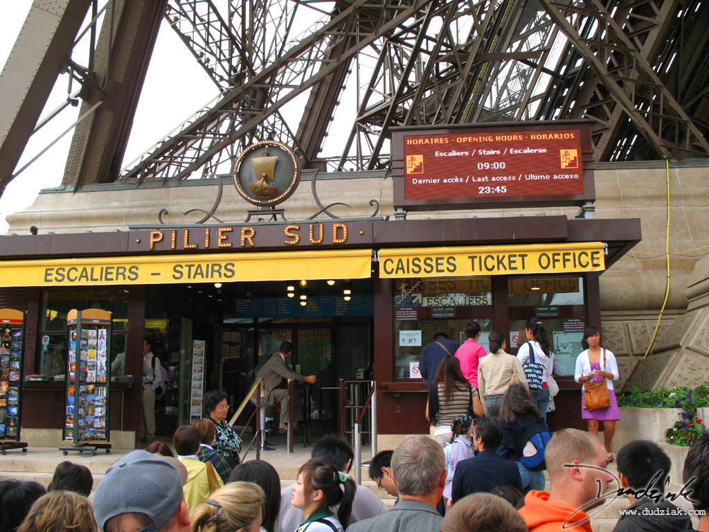 waiting in line,  Queue area,  eiffel tower,  paris