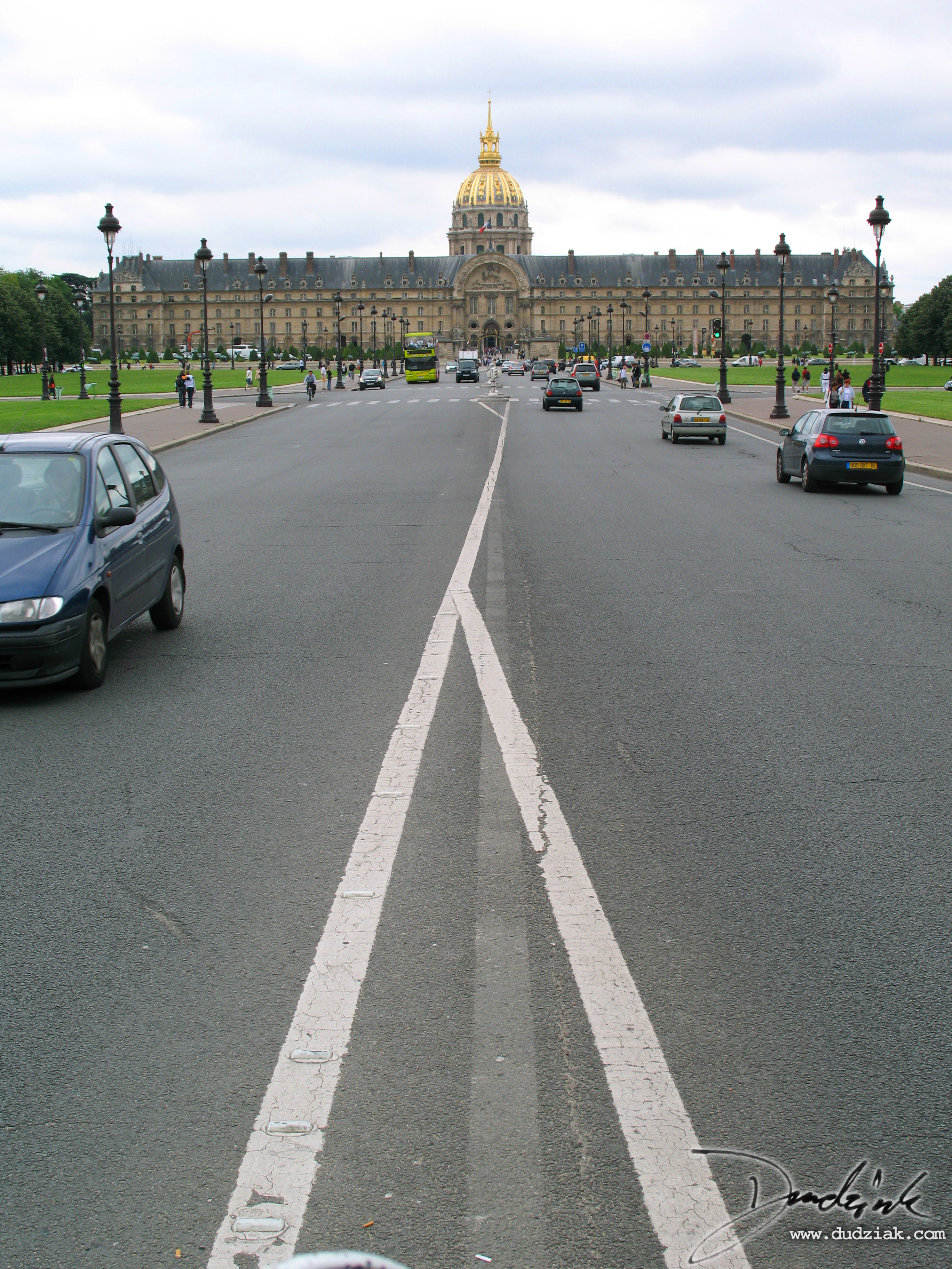 Les Invalides,  Military Museum,  Paris France,  Avenue de General Galland