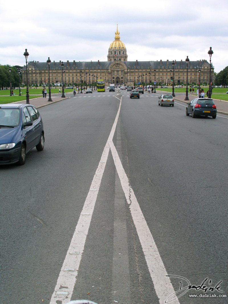 Avenue de General Galland,  Les Invalides,  Paris France,  Military Museum