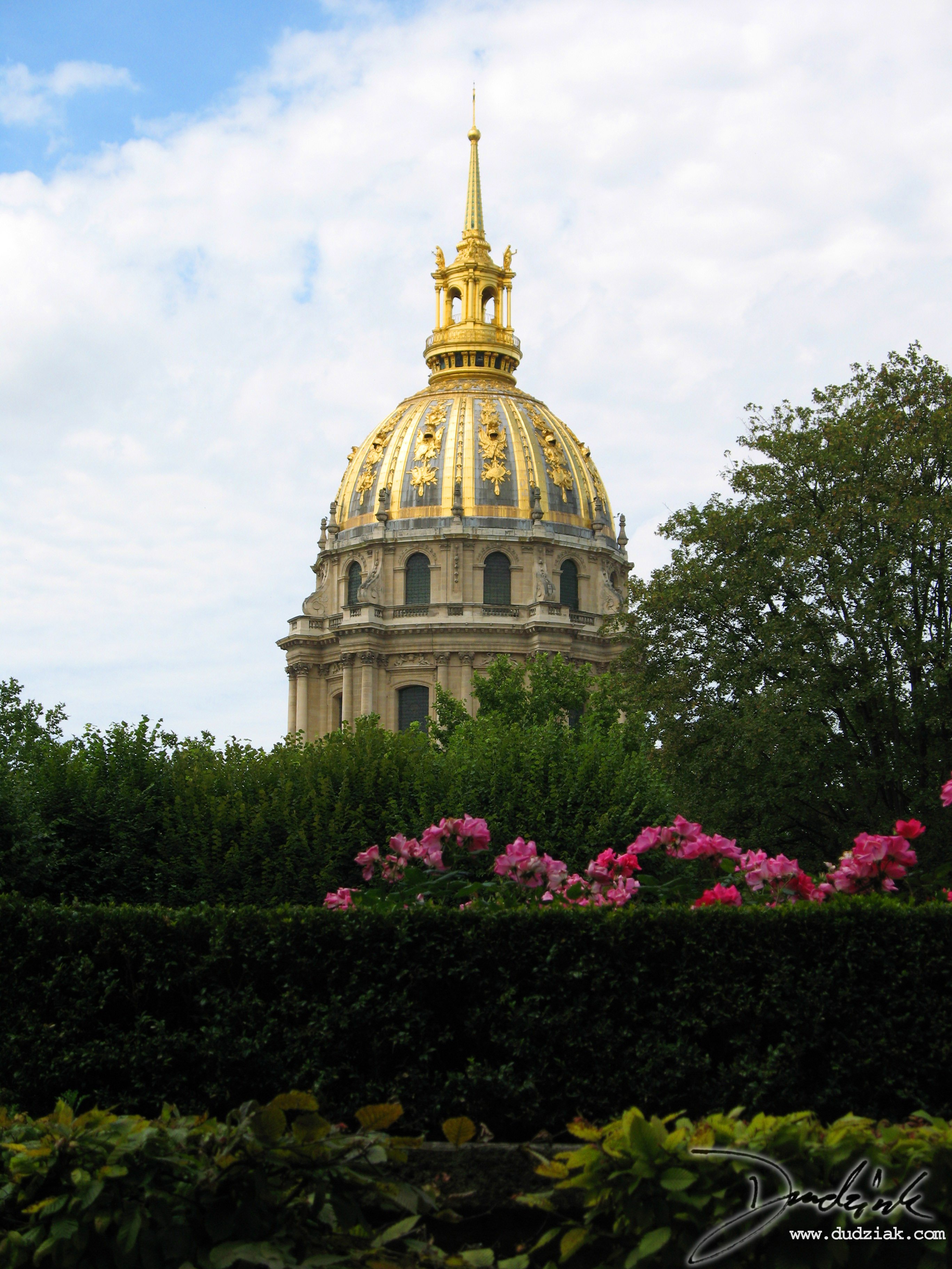 Military Museum,  dome,  Les Invalides,  Paris France