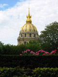 Dome of Les Invalides seen from Musée Rodin