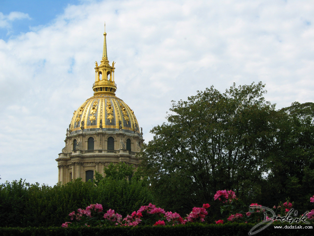 Paris France,  dome,  Les Invalides,  Military Museum,  Les Invalides,  Paris France,  Military Museum