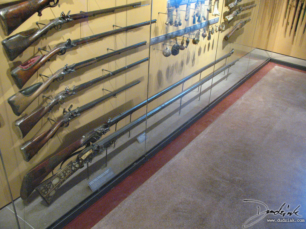 elephant guns,  Military Museum,  Paris France,  Les Invalides