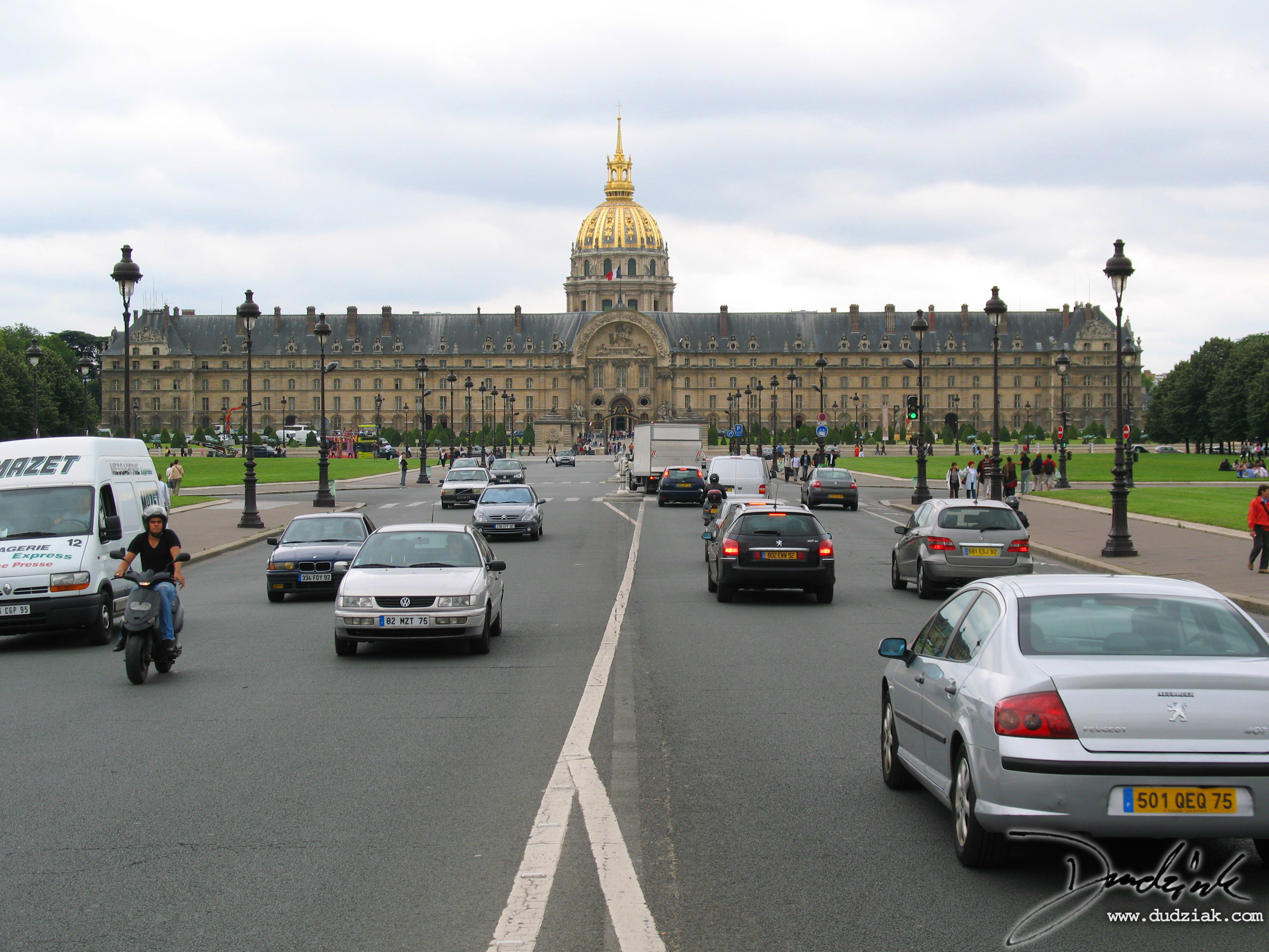 Paris France,  Military Museum,  Avenue de General Galland,  Les Invalides