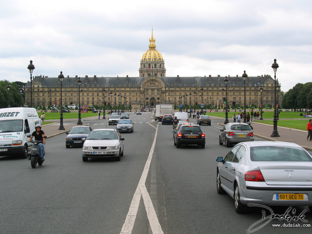 Paris France,  Les Invalides,  Military Museum,  Avenue de General Galland