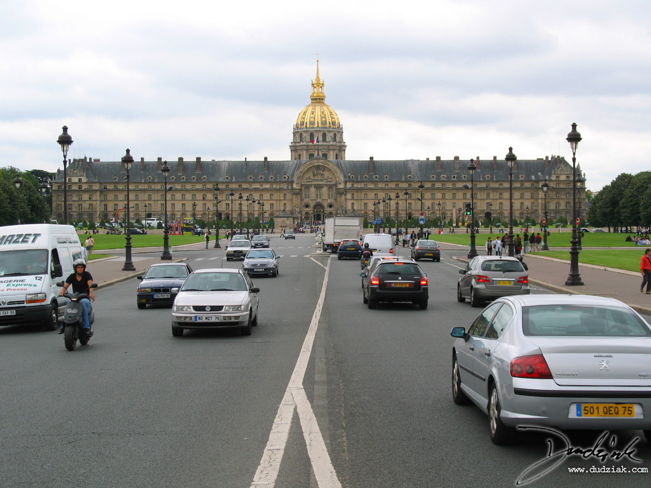 Paris France,  Avenue de General Galland,  Military Museum,  Les Invalides