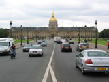 Les Invalides from Avenue de General Galland, Les Invalides