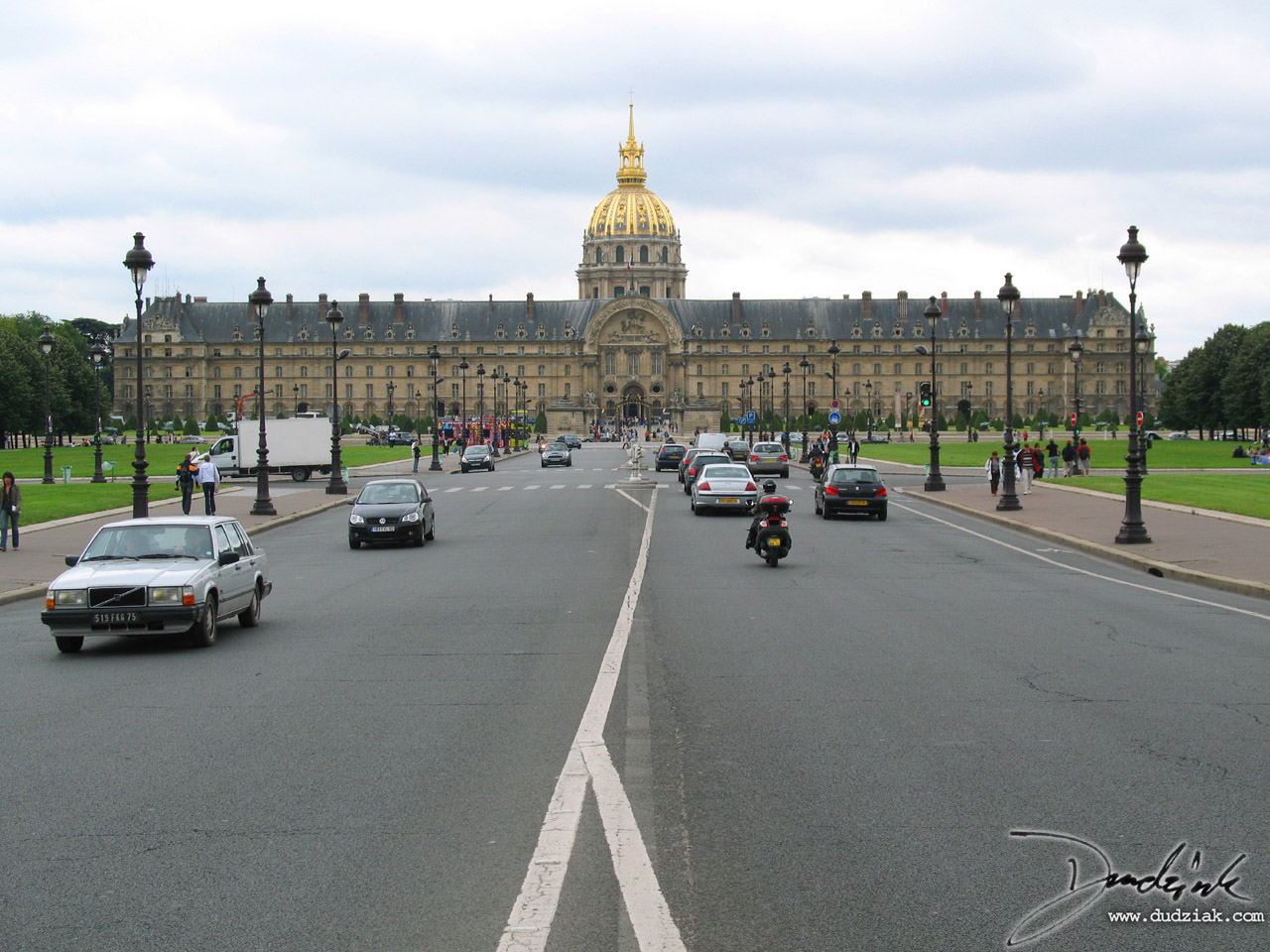 Les Invalides,  Military Museum,  Avenue de General Galland,  Paris France