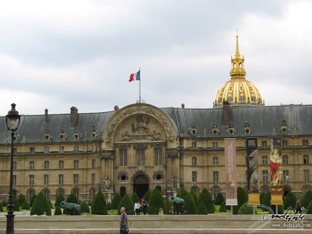 Les Invalides,  Paris France,  Military Museum