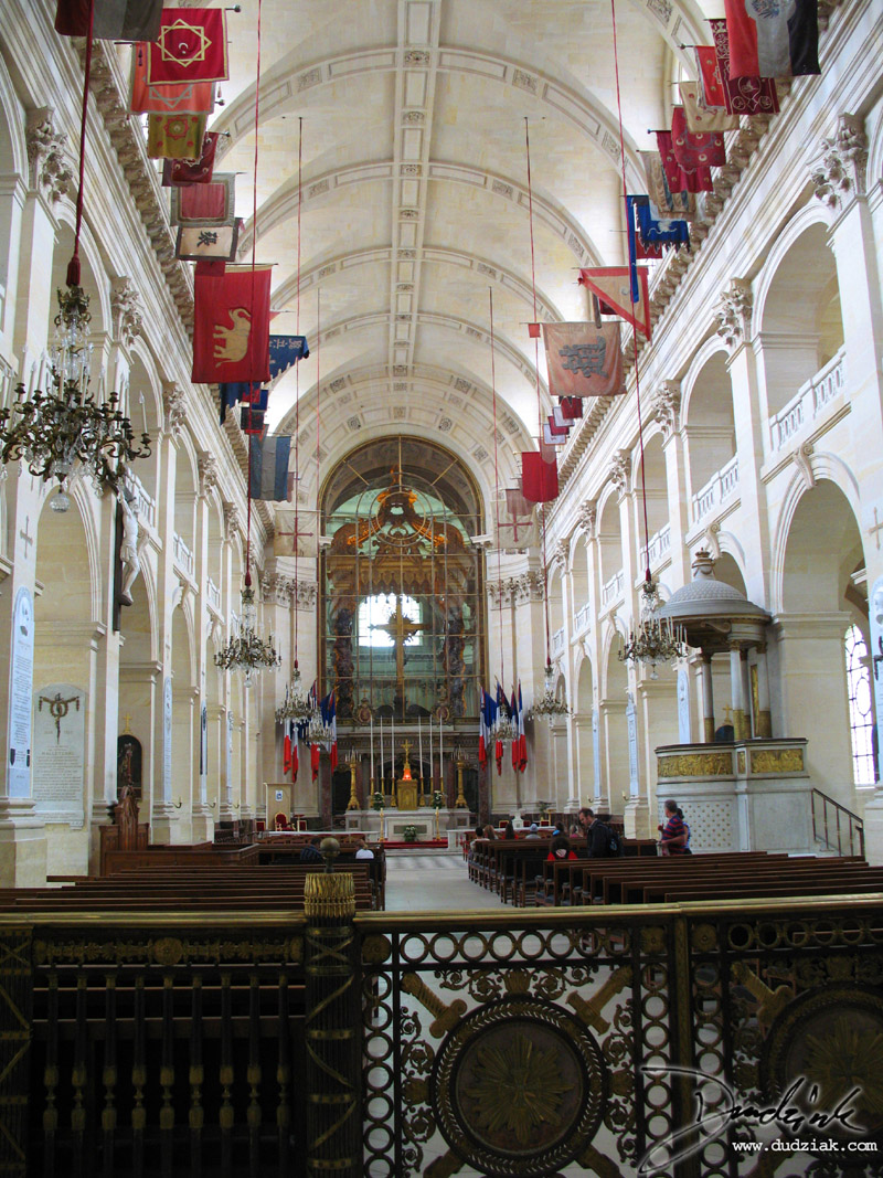chapel,  Military Museum,  Paris France,  Les Invalides
