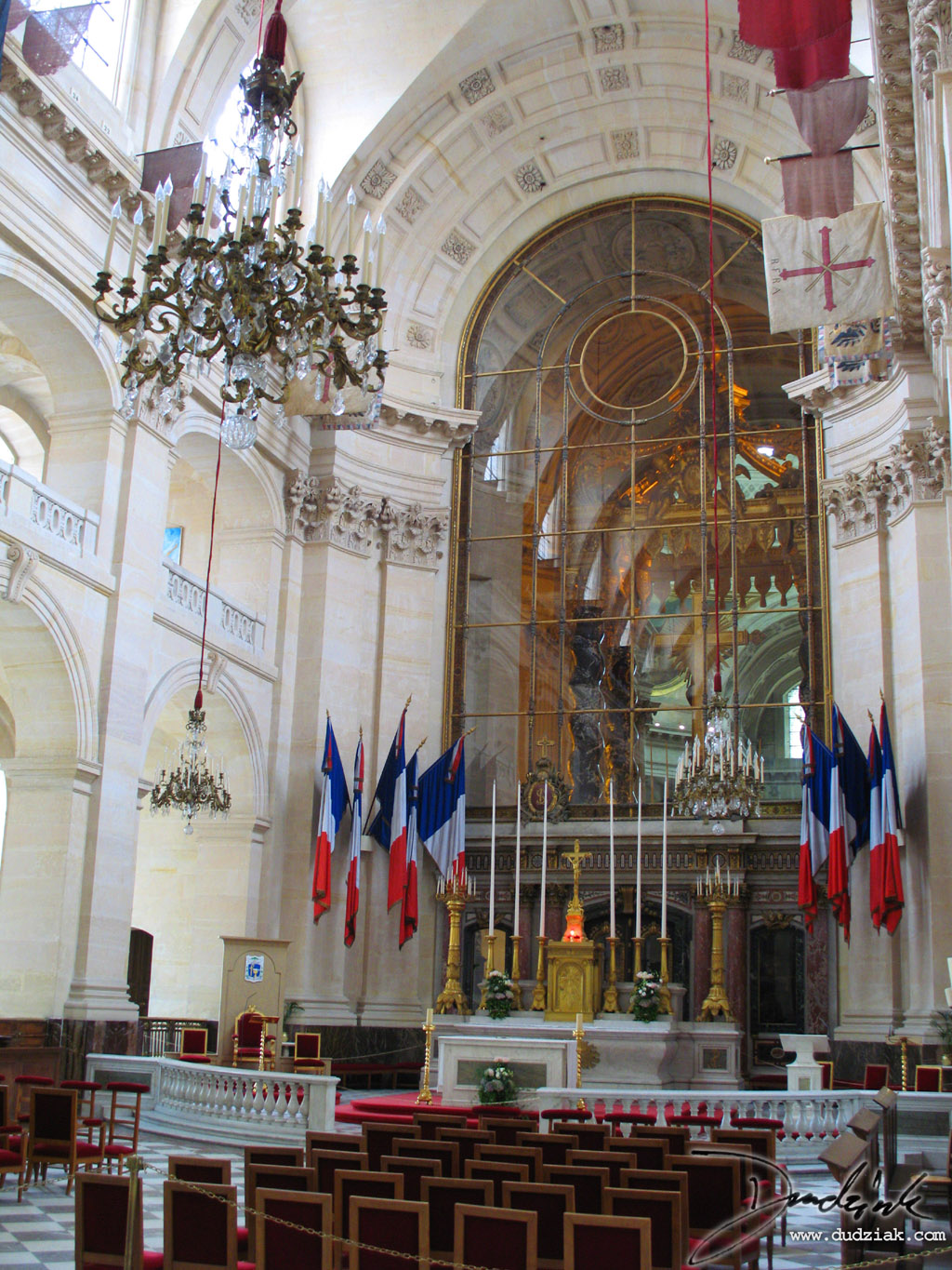 Paris France,  chapel,  Les Invalides,  Military Museum