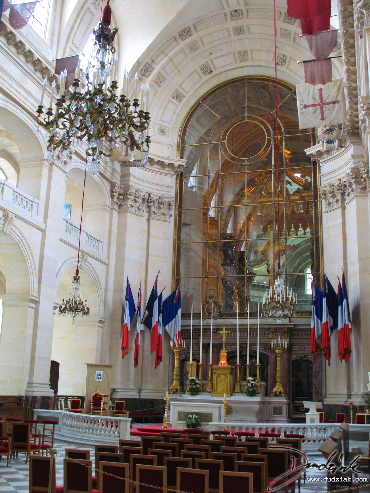 chapel,  Military Museum,  Les Invalides,  Paris France