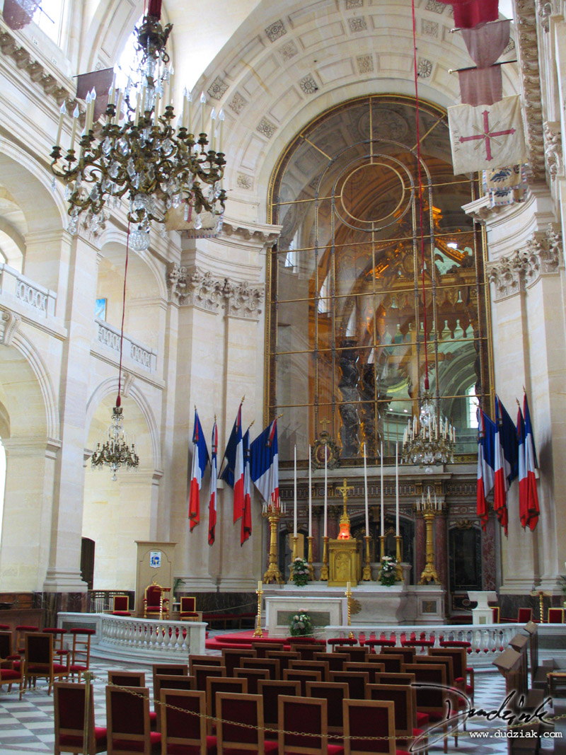 Paris France,  Military Museum,  chapel,  Les Invalides