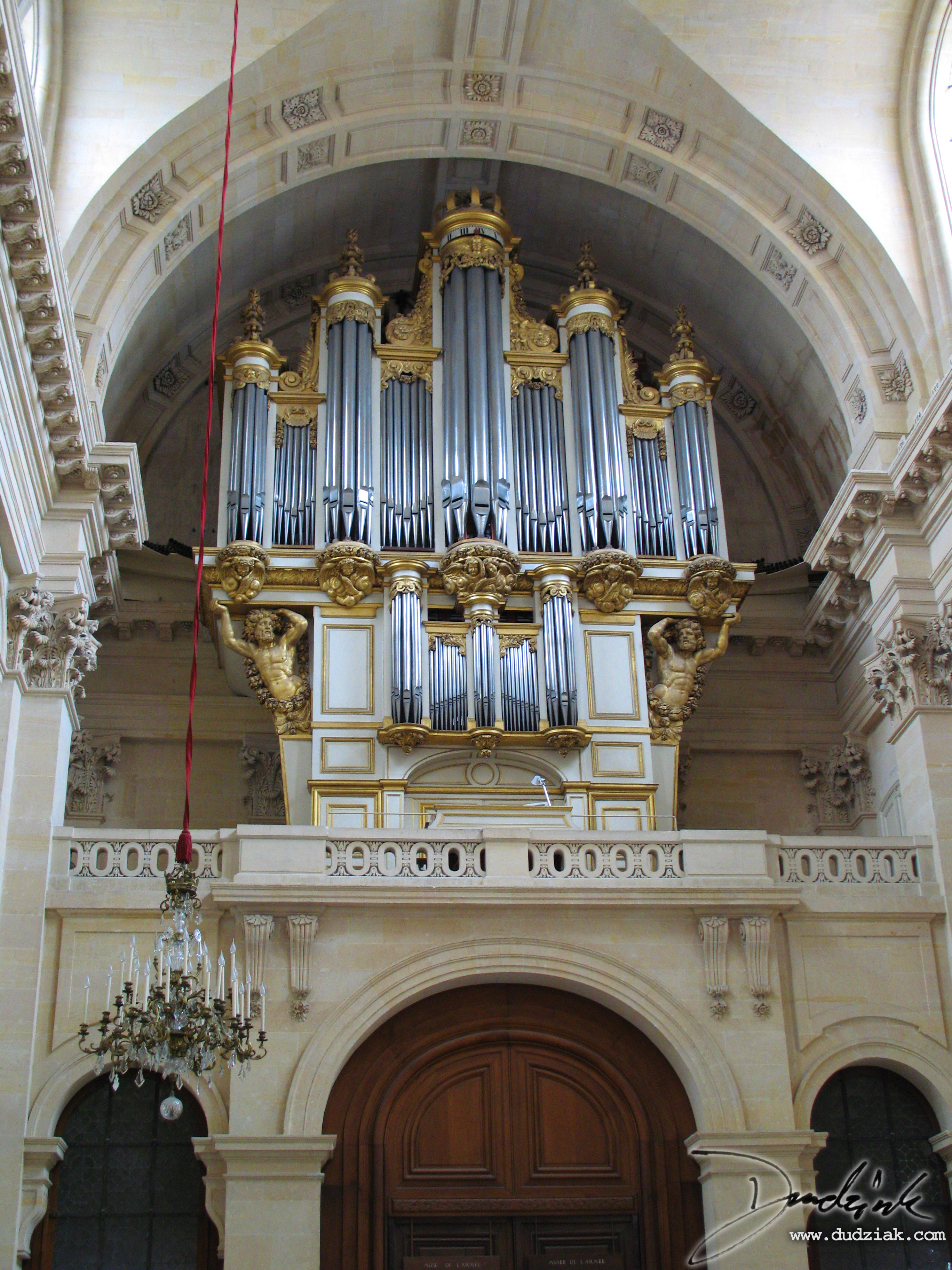 Military Museum,  chapel,  Les Invalides,  organ,  Paris France