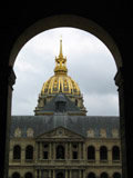Les Invalides Courtyard Enterence