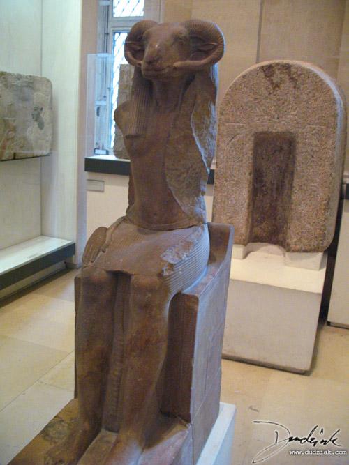 Amun-Ra Statue, Louvre Museum