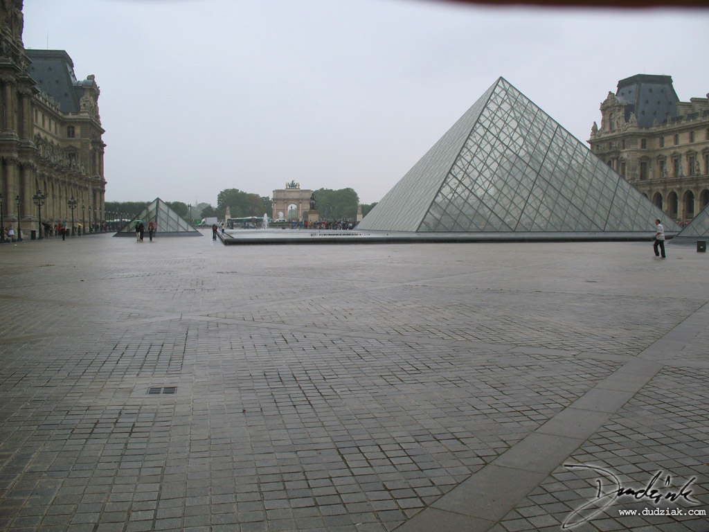 France,  Pyramid,  Paris,  Louvre Museum,  Louvre Pyramid
