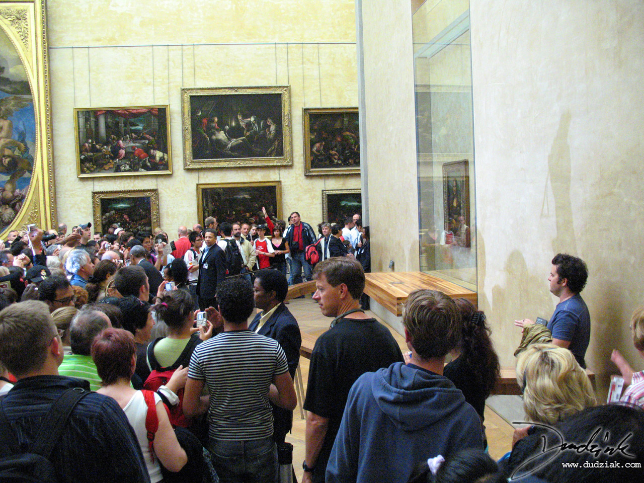 Mona Lisa,  Musee du Louvre,  Louvre Museum,  da Vinci,  France,  crowd,  Paris