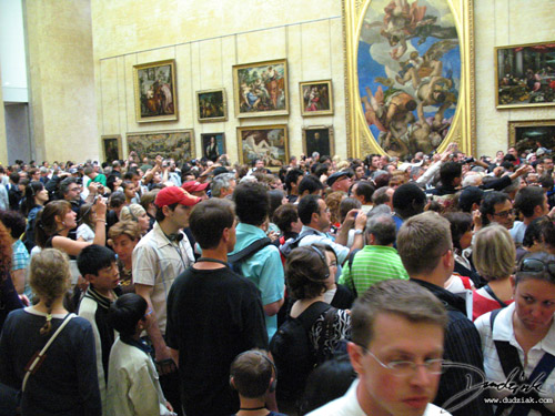 Mona Lisa,  da Vinci,  Musee du Louvre,  Paris,  Louvre Museum,  crowd,  France