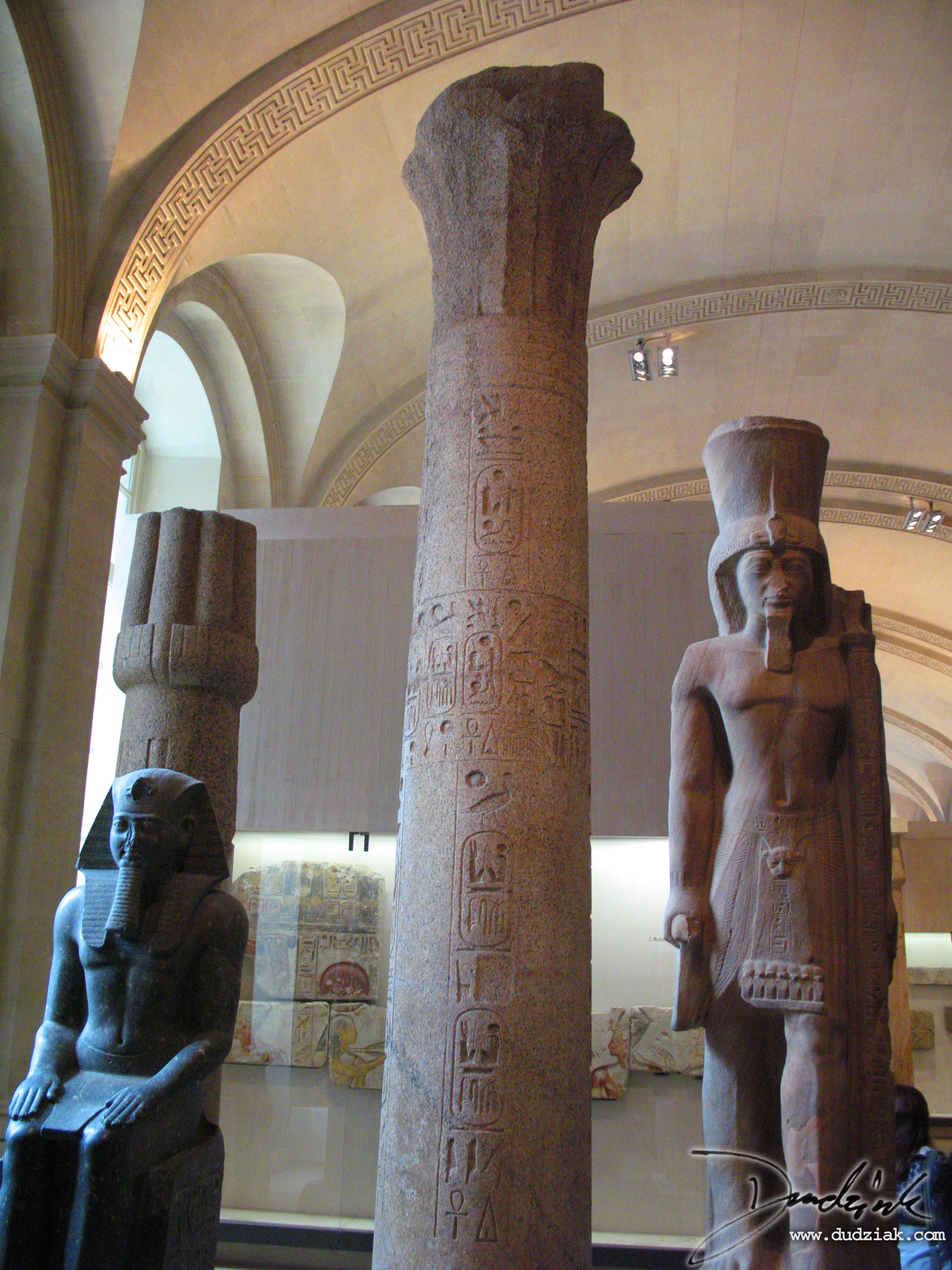 louvre museum,  louvre,  Heiroglyphs,  Egyptian Column,  paris,  column
