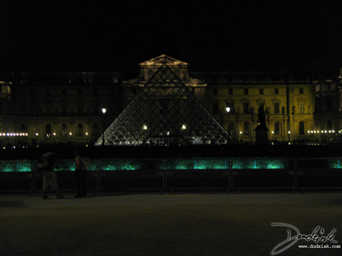 Paris,  Musee du Louvre,  Louvre at Night,  France