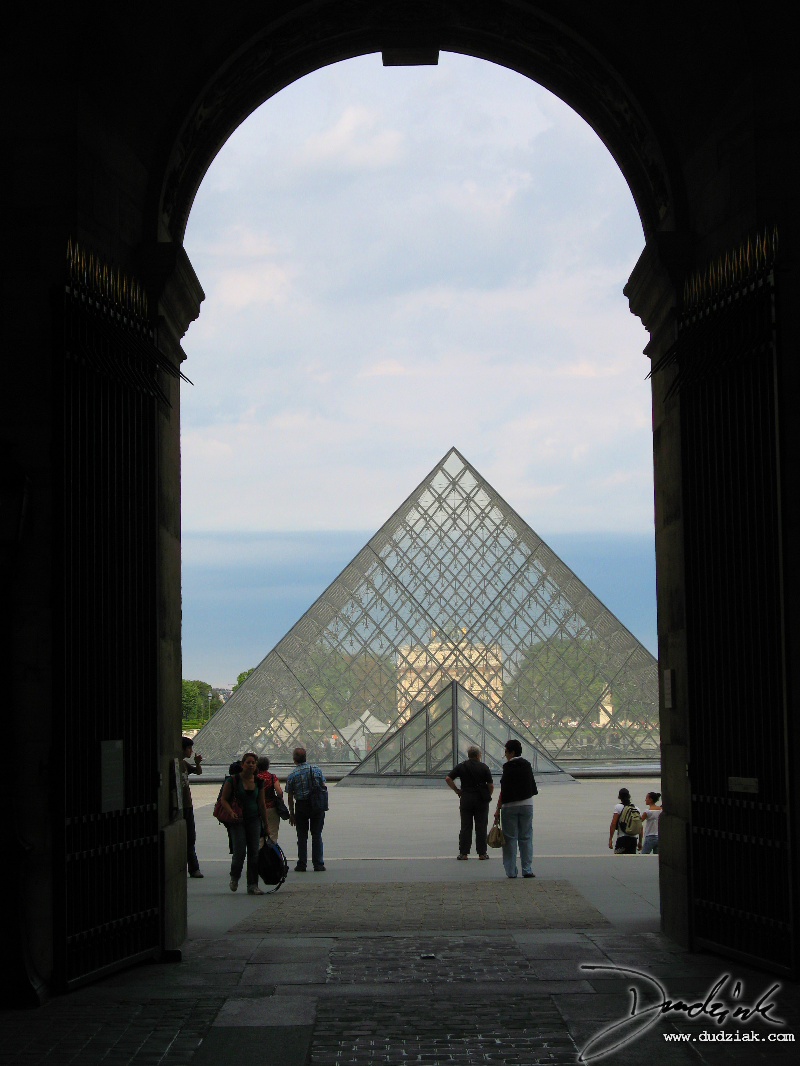 France,  Musee du Louvre,  Louvre Pyramid,  Paris