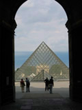 Louvre Pyramid, Louvre Museum