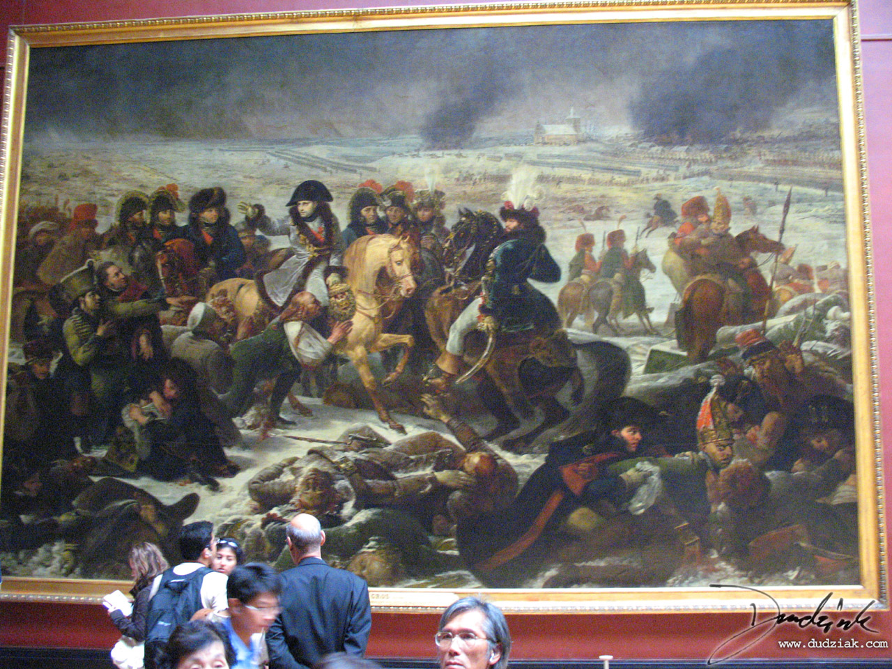 painting,  Louvre Museum,  Musee du Louvre,  Paris,  battle of eylau,  France,  napoleon