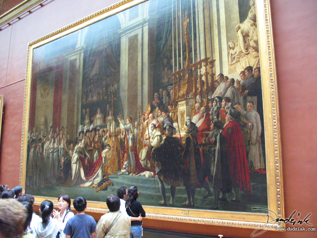 napoleon,  Napoleon's Corination,  France,  Musee du Louvre,  painting,  corination,  Paris,  Louvre Museum