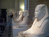 Row of Sphinxes in the Louvre