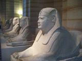 Row of Sphinxes in the Louvre, Louvre Museum