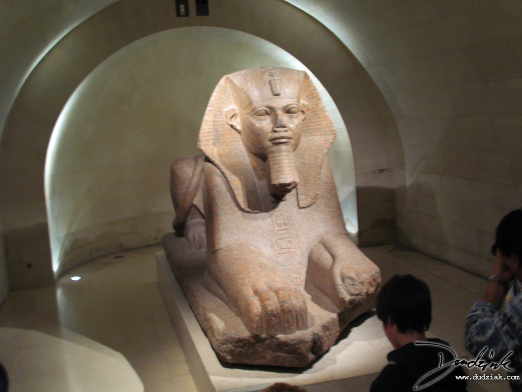 sphinx,  louvre museum,  paris,  louvre,  egyptian sphinx