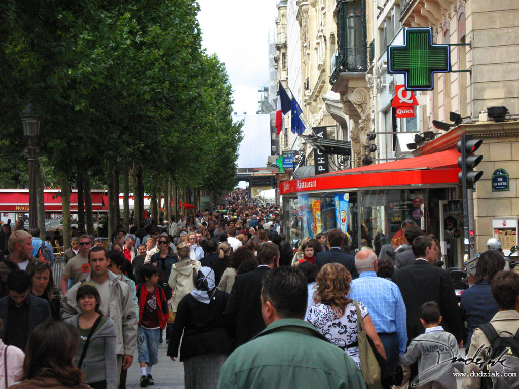 Paris,  Champs-Élysées,  Champs Elysees,  France