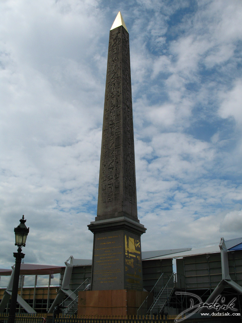 Egyptian Obelisk,  Place de la Concorde,  France,  Obelisk,  Paris