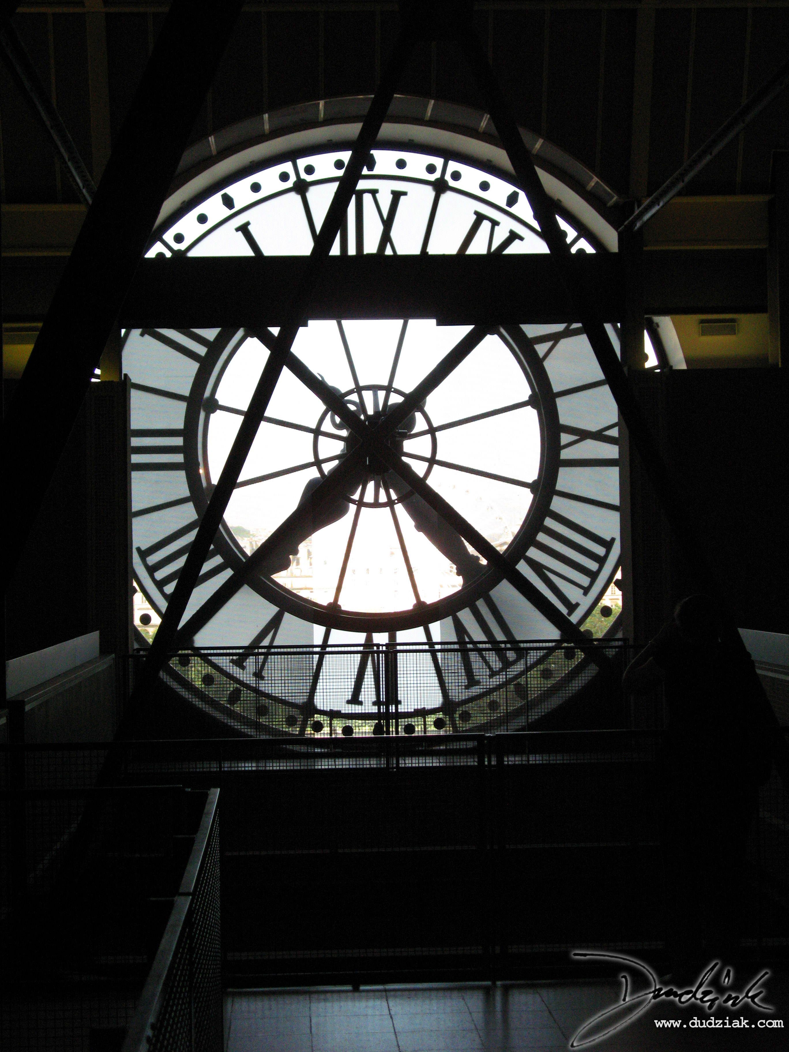 Musée d'Orsay,  France,  Paris,  Orsay Museum,  clock