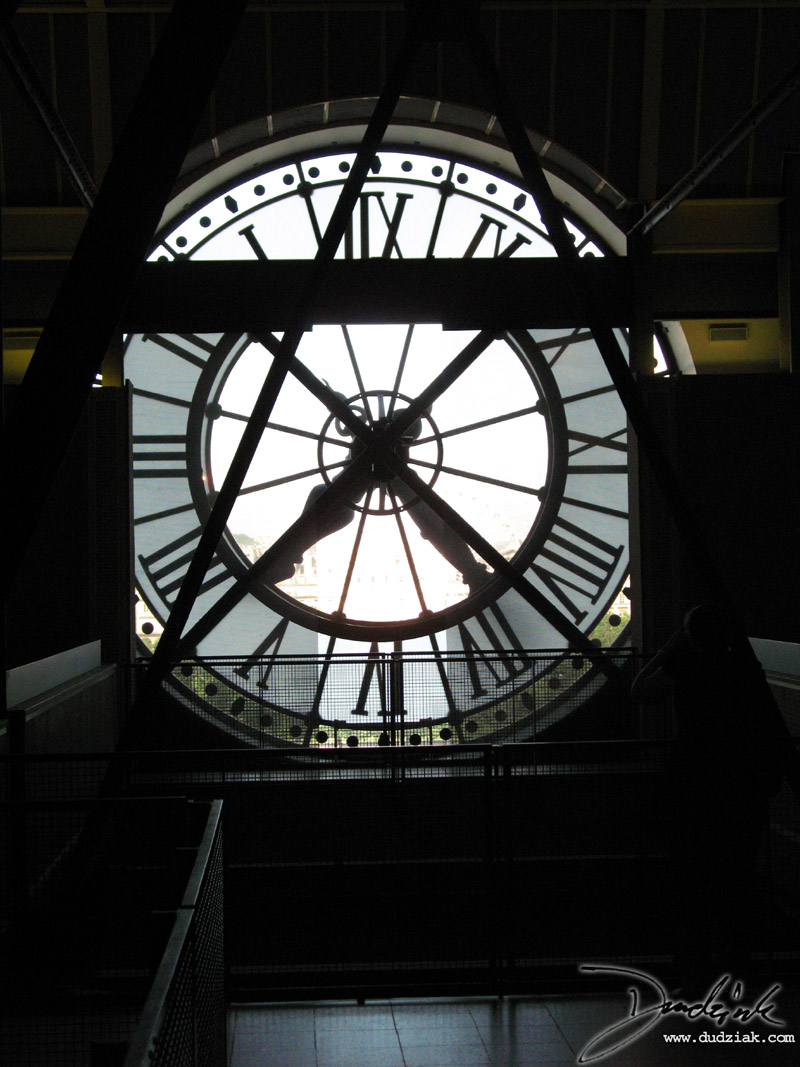 Musée d'Orsay,  Orsay Museum,  France,  clock,  Paris