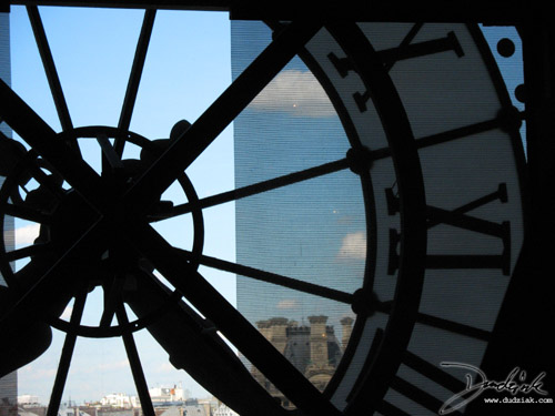Musée d'Orsay,  clock,  Orsay Museum,  France,  Paris
