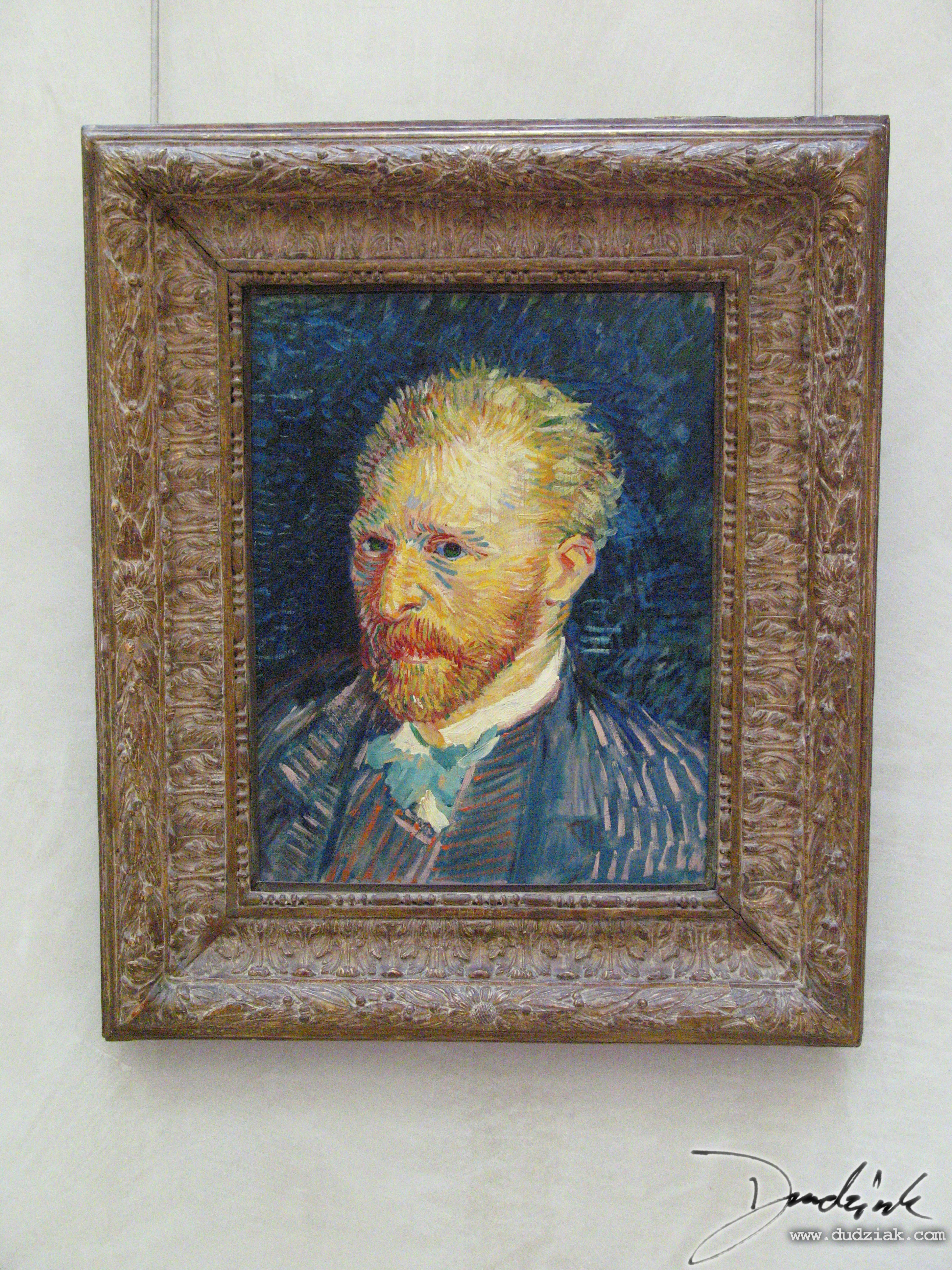 Musée d'Orsay,  Orsay Museum,  France,  Self Portrait,  Van Gogh,  Paris
