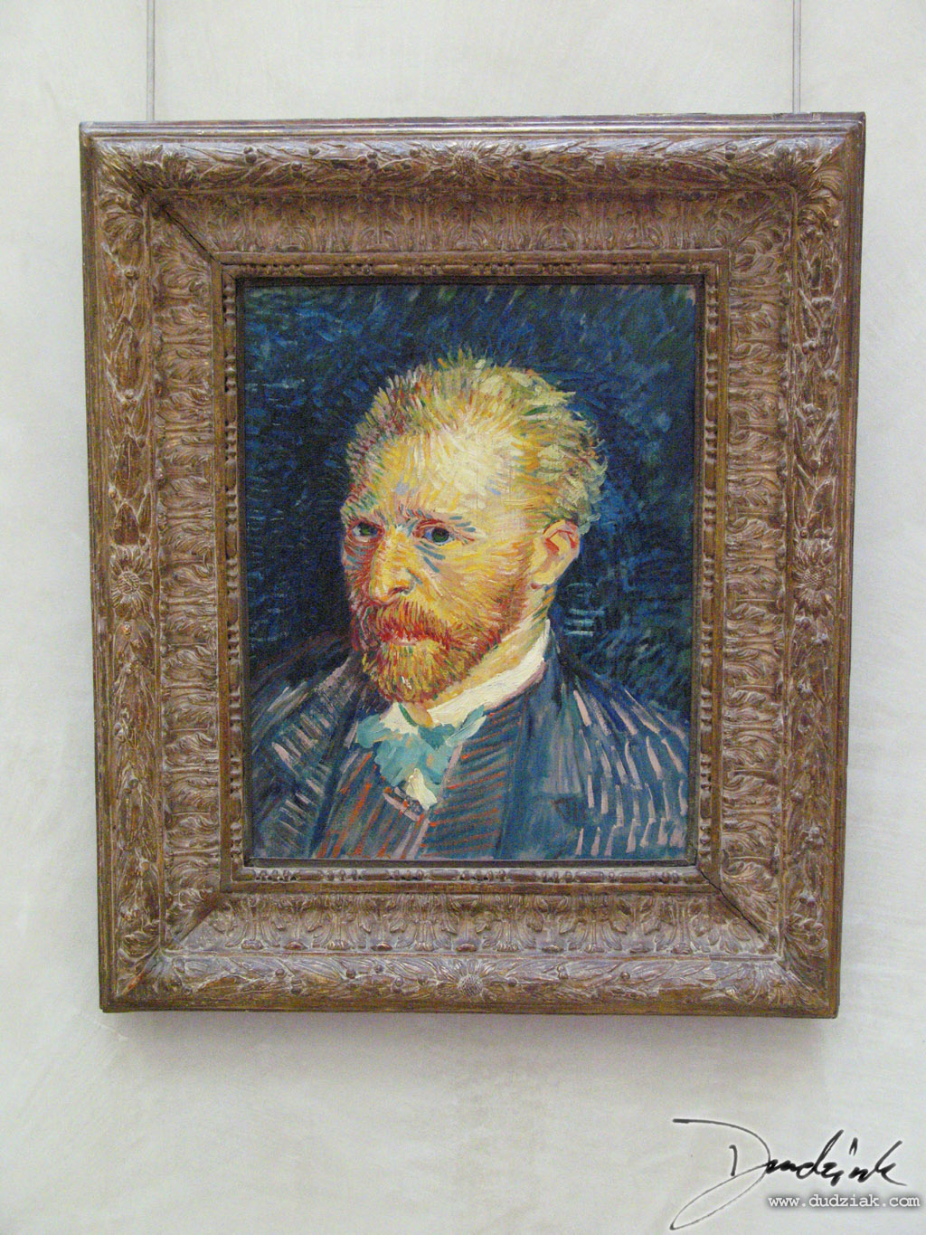 Orsay Museum,  France,  Paris,  Self Portrait,  Van Gogh,  Musée d'Orsay