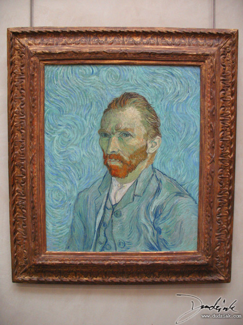 Self Portrait,  Van Gogh