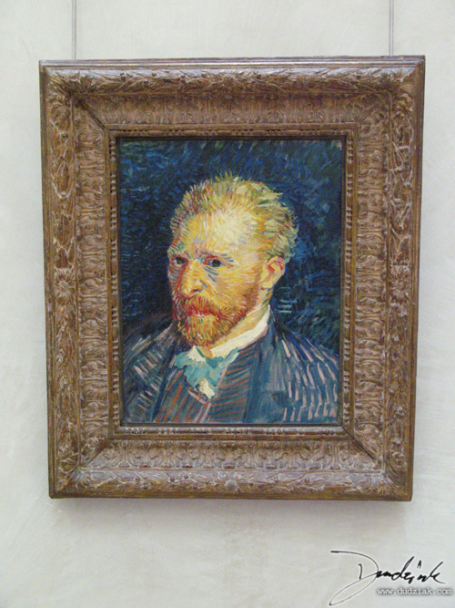 Self Portrait,  France,  Van Gogh,  Orsay Museum,  Paris,  Musée d'Orsay