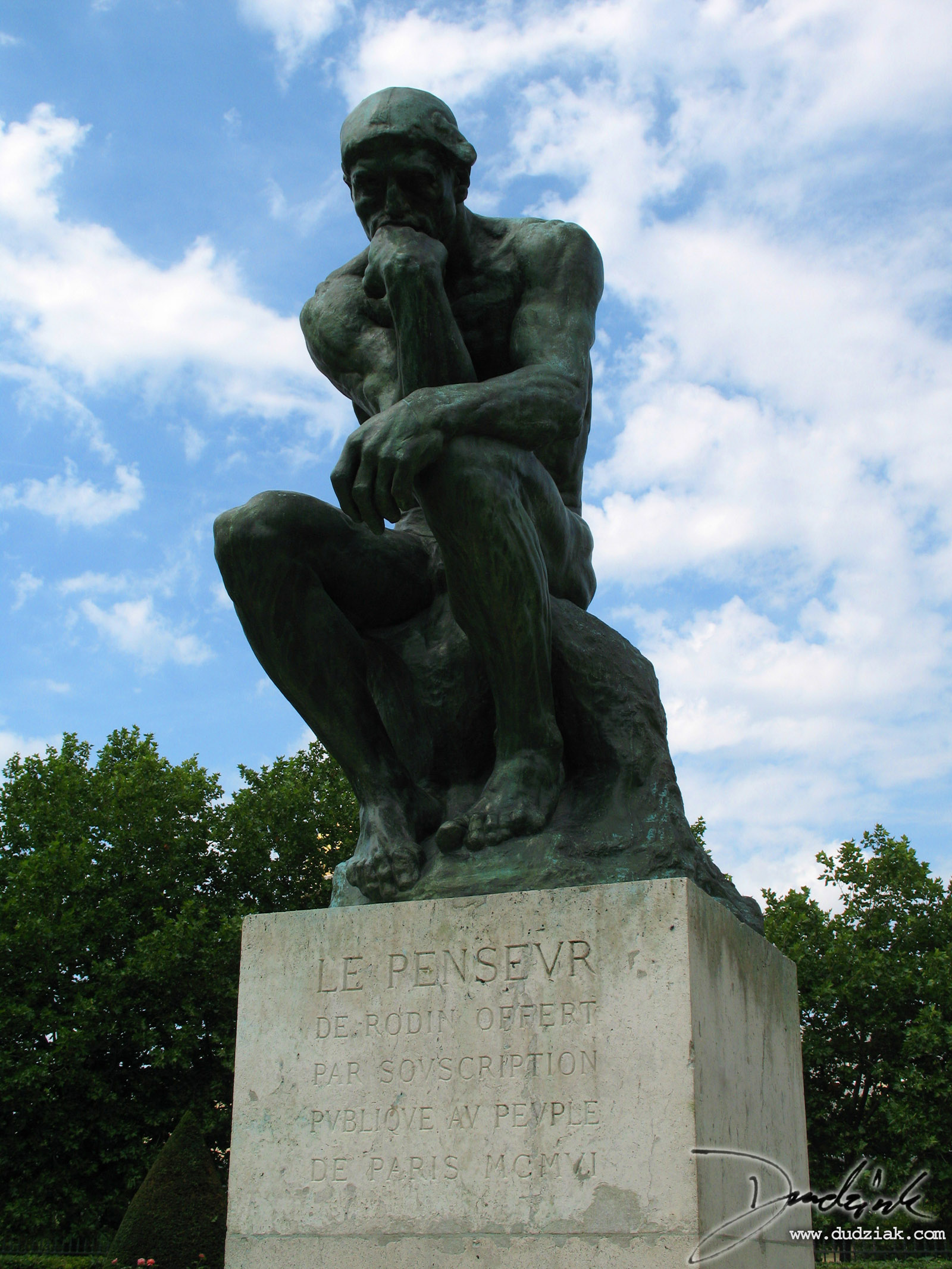 Le Penseur (The Thinker), Rodin Museum 1600x2133