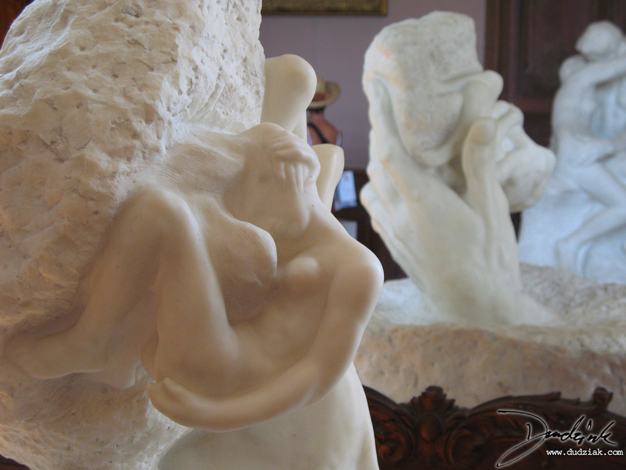 "Picture of ""Hand of God"" sculpture by Rodin in the Rodin Museum (Musee Rodin) in Paris, France."